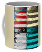 The Max Face In Quad Colors Coffee Mug
