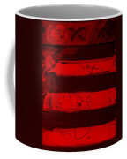 The Max Face In Red Coffee Mug