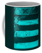 The Max Face In Turquois Coffee Mug