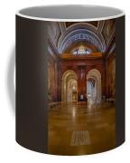 The Mcgraw Rotunda At The New York Public Library Coffee Mug