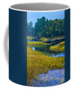 The Meandering Moose River - Old Forge New York Coffee Mug by David Patterson