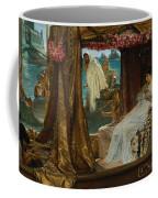 The Meeting Of Antony And Cleopatra  41 Bc Coffee Mug
