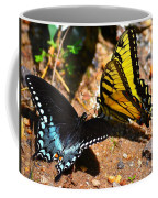 The Meeting Of The Butterflies Coffee Mug
