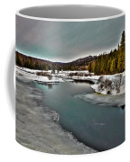 The Melting Of The Moose River In The Adirondacks Coffee Mug