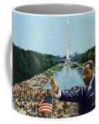 The Memorial Speech Coffee Mug by Colin Bootman