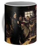 The Menshikov Family In Beriozovo, 1883 Oil On Canvas Coffee Mug