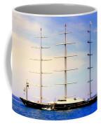 The Mighty Maltese Falcon Coffee Mug by Karen Wiles
