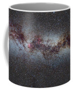 The Milky Way From Scorpio And Antares To Perseus Coffee Mug by Guido Montanes Castillo