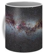 The Milky Way From Scorpio And Antares To Perseus Coffee Mug