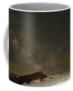 the Milky Way Sagittarius and Antares over the Sierra Nevada National Park Coffee Mug