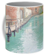 The Mills At Montreuil Sur Mer Normandy Coffee Mug by Fritz Thaulow