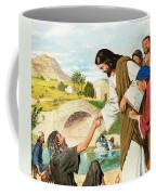 The Miracles Of Jesus  Making The Lame Man Walk Coffee Mug