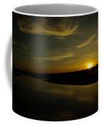 The Missouri River At Sunset South Of Culbertson Mt  Coffee Mug