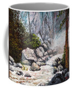 The Mist At Bridalveil Falls Coffee Mug