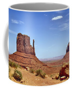 The Mittens Monument Valley Coffee Mug