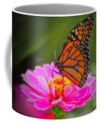 The Monarch's Flower Coffee Mug