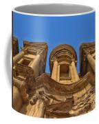The Monastery In Petra Coffee Mug