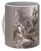 The Moon And Endymion Coffee Mug by Bernard Picart