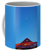 The Moon The Roof And The Sky Coffee Mug