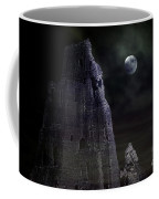 The Moonshine On The Castle Coffee Mug by Terri Waters