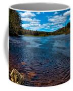 The Moose River At The Green Bridge Coffee Mug