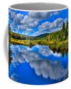 The Moose River From The Green Bridge Coffee Mug