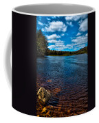 The Moose River In The Spring Coffee Mug