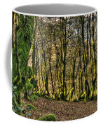 The Mossy Creatures Of The  Old Beech Forest 4 Coffee Mug