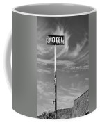 The Motel Bw Palm Springs Coffee Mug