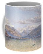 The Mountains Of St Gingolph Coffee Mug