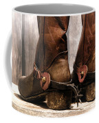 The Muddy Boots Coffee Mug by Olivier Le Queinec