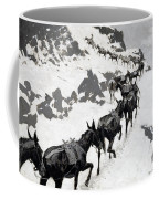 The Mule Pack Coffee Mug