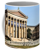 The Museum Of Art In Philadelphia Coffee Mug