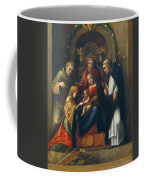 The Mystic Marriage Of St Catherine Coffee Mug