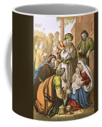 The Nativity Coffee Mug by English School