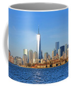 The New Manhattan Coffee Mug by Olivier Le Queinec
