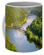 The New River From Hawks Nest Coffee Mug