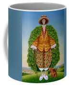 The New Vestments Ivor Cutler As Character In Edward Lear Poem, 1994 Oils And Tempera On Panel Coffee Mug
