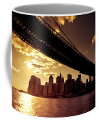 The New York City Skyline - Sunset Coffee Mug