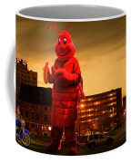 The Night Of The Lobster Man Coffee Mug