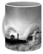 The Nubble In Trouble Coffee Mug by Lori Deiter