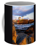 The Nubble Lighthouse Coffee Mug by Steven Ralser