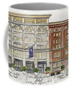 The Nyu Steinhardt Pless Building Coffee Mug