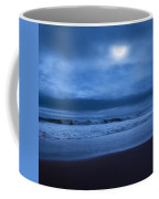The Ocean Moon Square Coffee Mug by Bill Wakeley