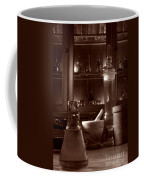 The Old Apothecary Shop Coffee Mug by Olivier Le Queinec