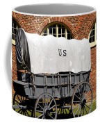 The Old Army Wagon Coffee Mug