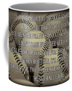 The Old Ballgame Coffee Mug