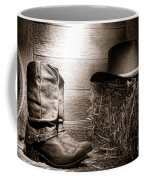 The Old Boots Coffee Mug by Olivier Le Queinec