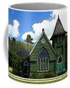 The Old Church In Hanalei Coffee Mug