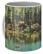 The Old Days By The Lake Coffee Mug by Laurie Search